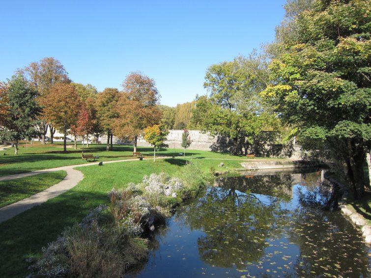 Visiter Besançon : parc