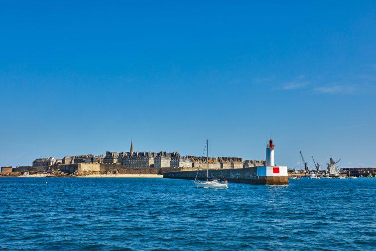 Phare Môle des Noires, Saint Malo