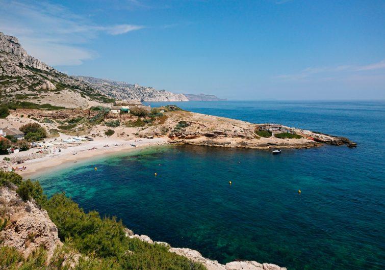 Plage de Marseilleveyre