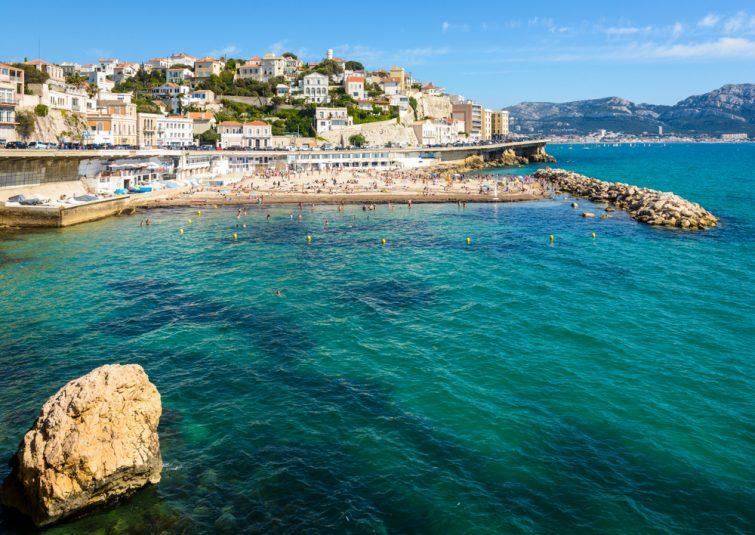 Plus belles plages de Marseille : Plage du Prophète