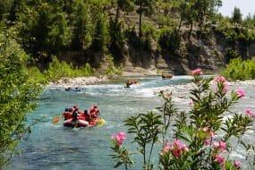 Rafting en Ardèche
