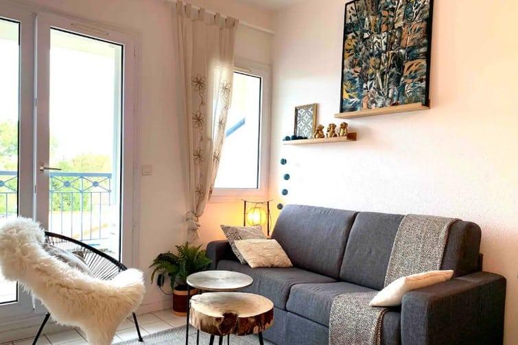 Appartement avec balcon à deux pas de Royan