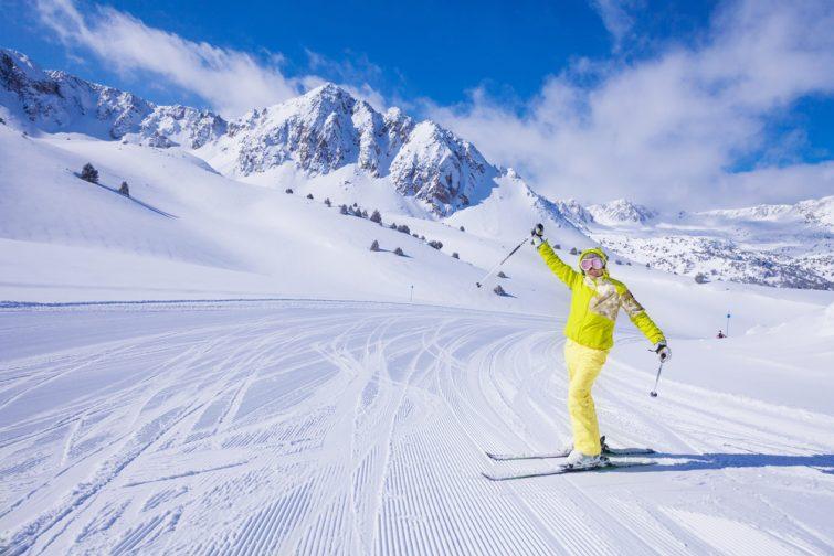 Activité outdoor à faire dans les Pyrénées : ski