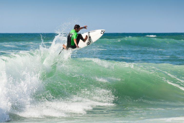 Surf à hossegor
