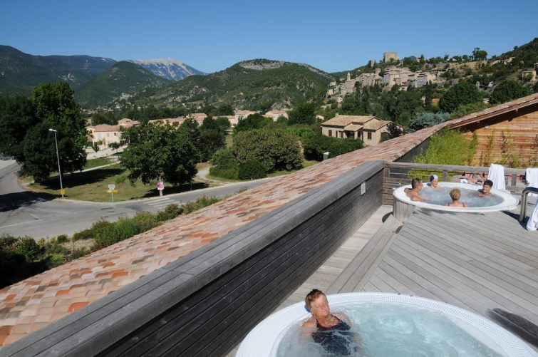 Stations thermales du Parc Naturel Régional des Baronnies Provençales