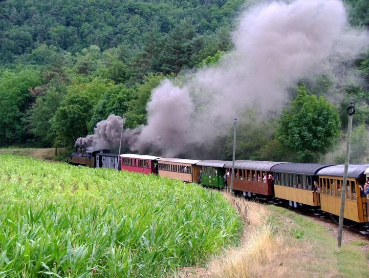 train à vapeur de l'Ardèche