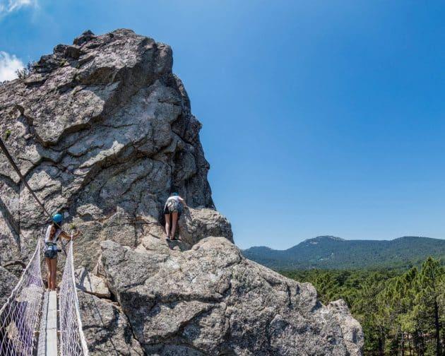 5 endroits où faire de la Via ferrata en Corse