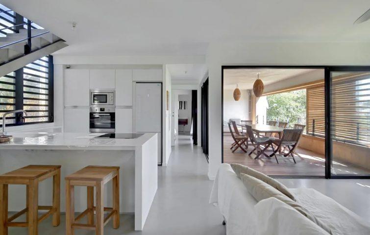 Airbnb à La Réunion : villa lagon de l'Hermitage