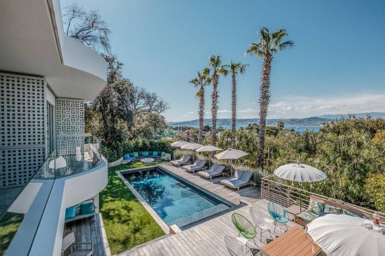 Villa de luxe à Antibes