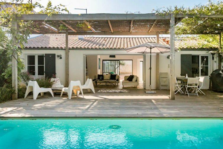 Villa avec piscine chauffée à l'Île de Ré