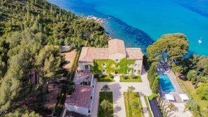 Villas de luxe sur la Côte d'Azur