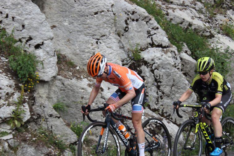 Cyclistes au Grand Bornand