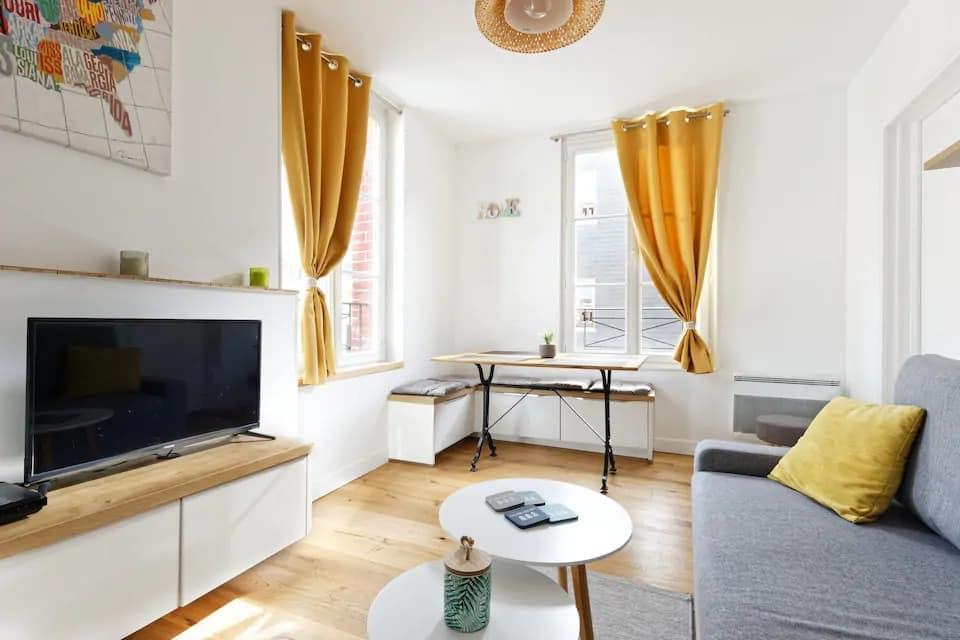 ❤️Mer et Hyper centre Villers Lits faits + WIFI ! - Airbnb à Villers-sur-Mer