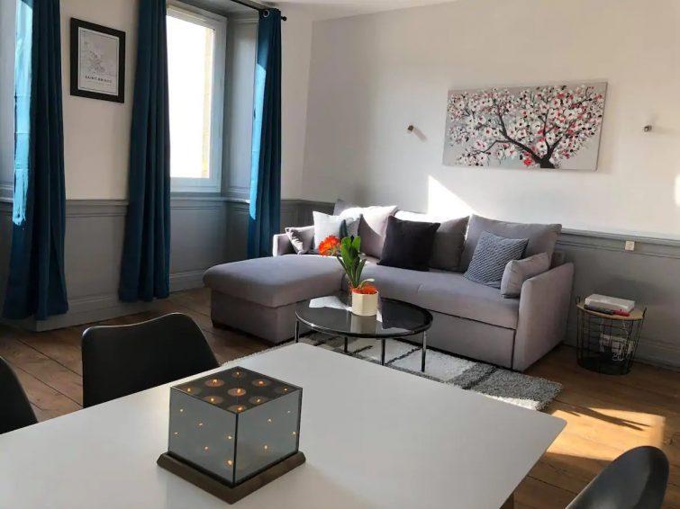 Appartement T2, lumineux, hyper centre st brieuc