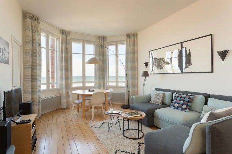 appartement d'exception 2 chambres front de mer - Airbnb Villers-sur-Mer