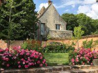 Maisonnette avec balcon, vue imprenable et jardin