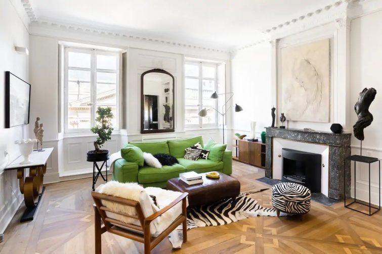Splendide appartement dédié à l'art