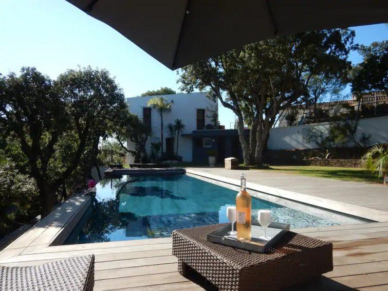 Villa Alyssa : vue mer, piscine, 6/8 personnes