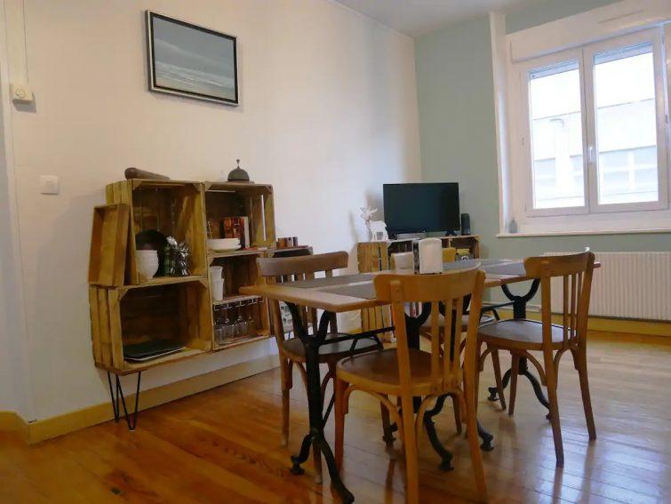 Logement entier, équipé et soigné en centre ville - Airbnb Boulogne-sur-Mer