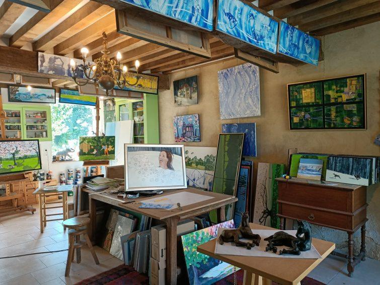 Visiter Saint-Céneri-le-Gérei - Atelier Artiste