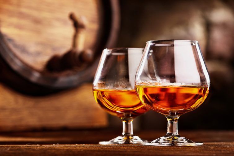 Visiter Charente : Verre de Cognac