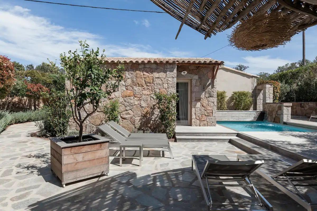 Villa piscine chauffée