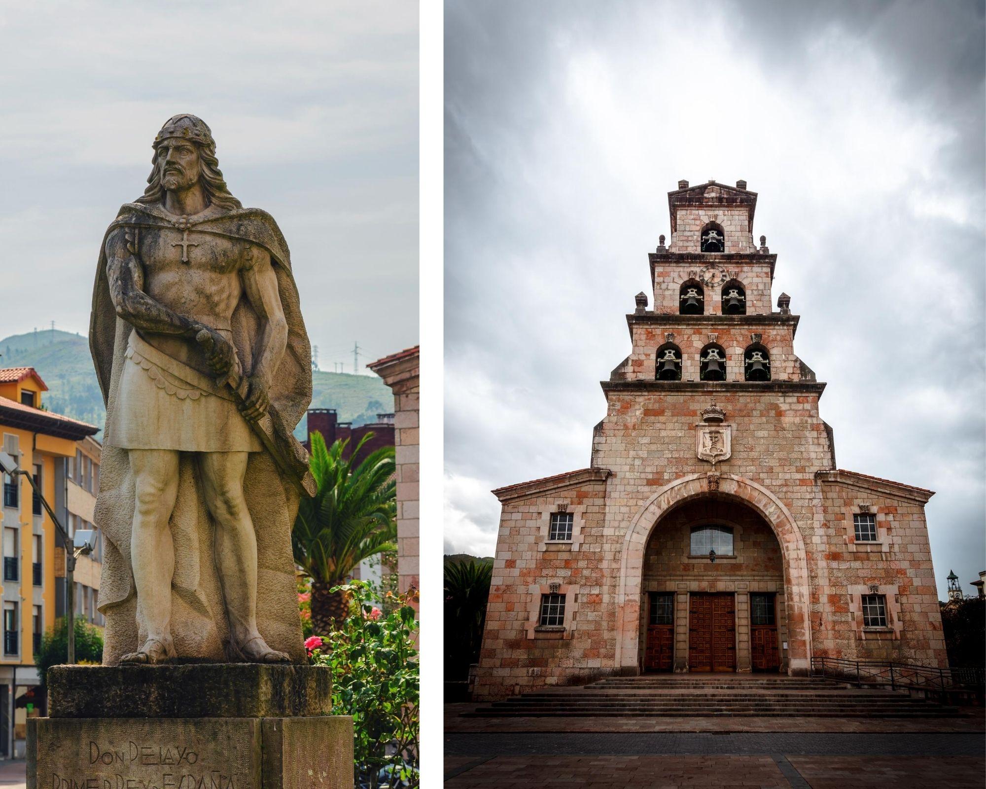 Eglise et Pelayo