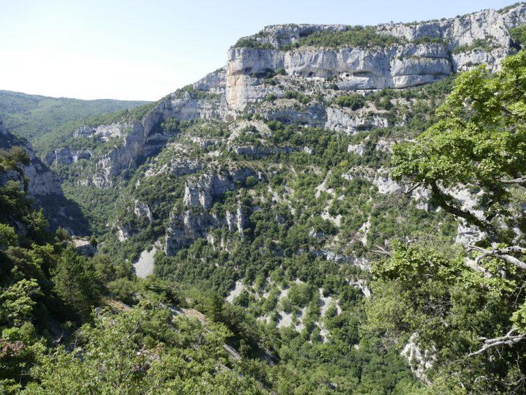 visiter le Vaucluse Gorges de Nesque