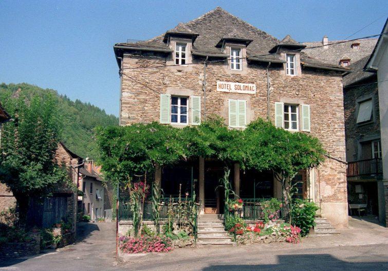 manger Conques - Hotel Solomiac