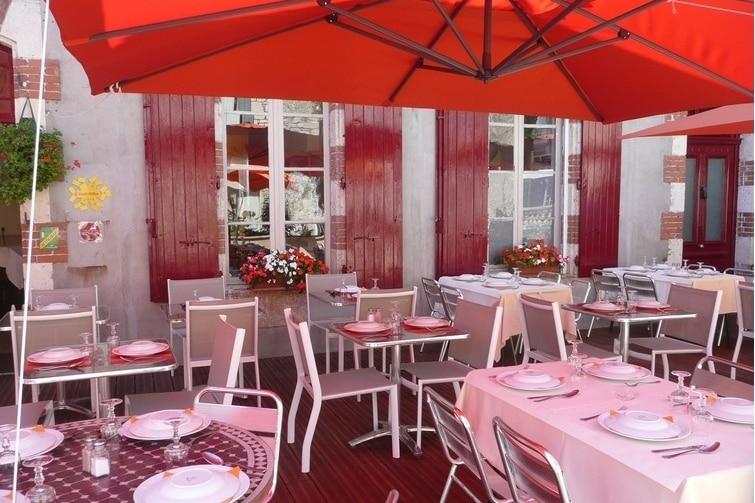 Manger à Lauzerte Hotel du Quercy