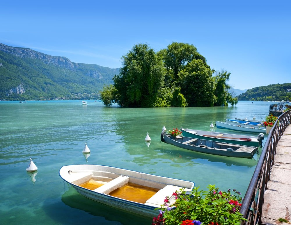 Lac Annecy Bateau