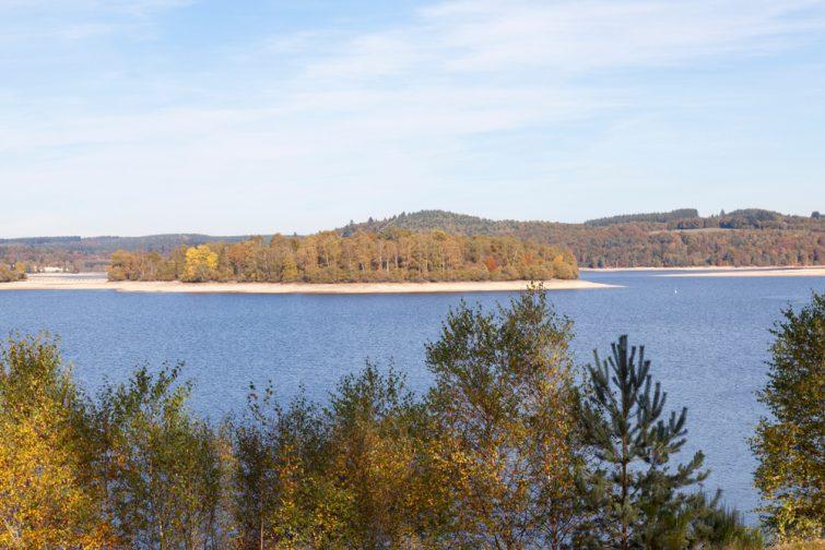 Parc de Millevaches et le Lac Vassiviere