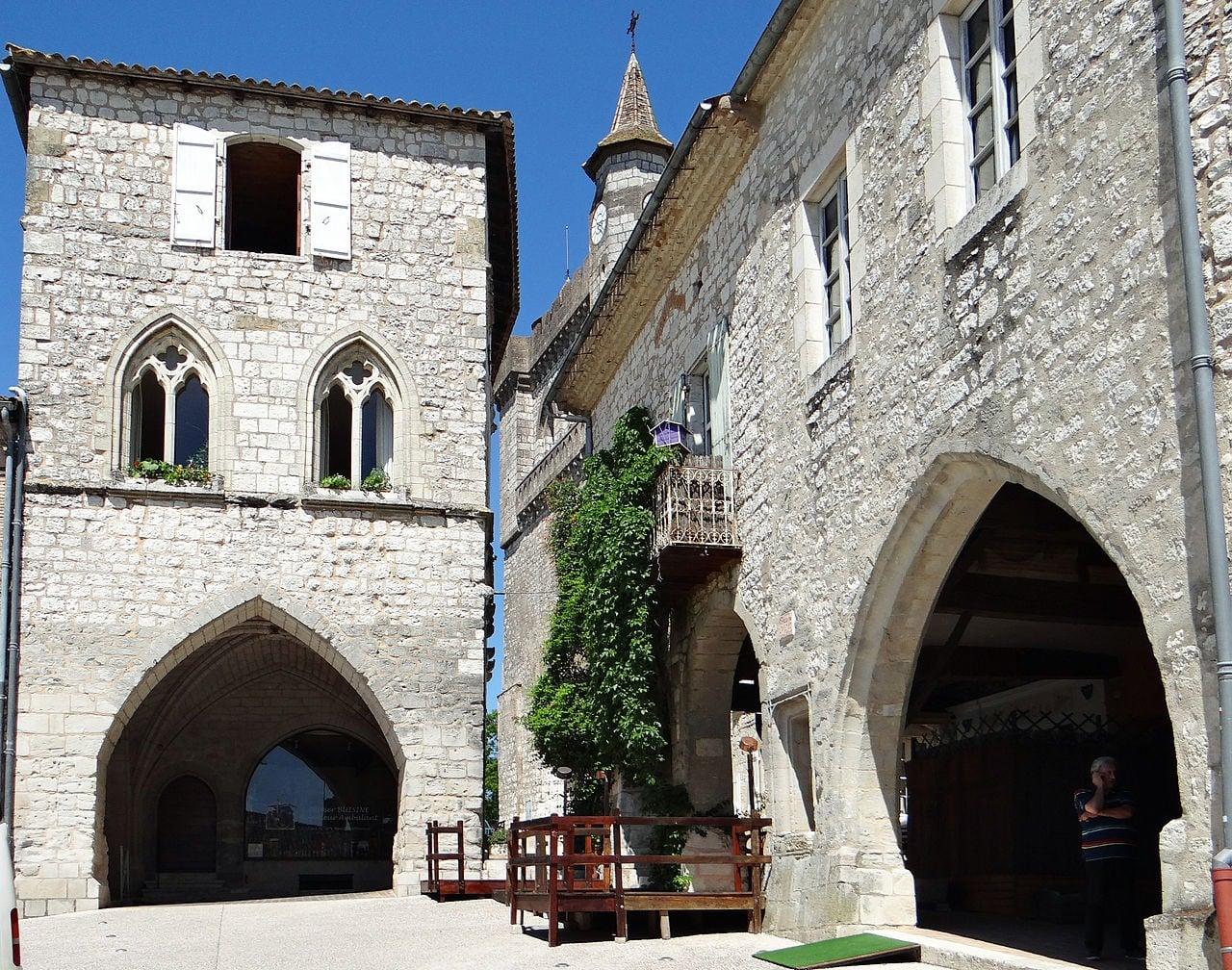 villages de Nouvelle Aquitaine : Montlfanquin