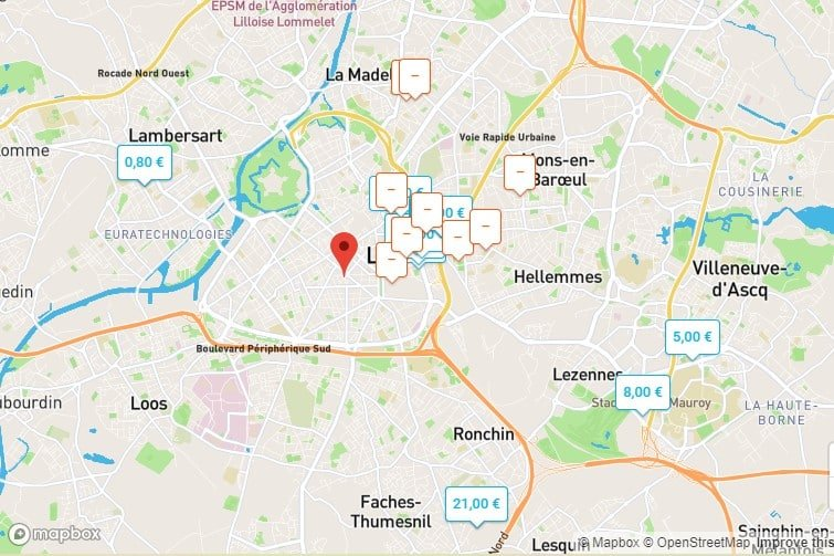 Onepark Lille