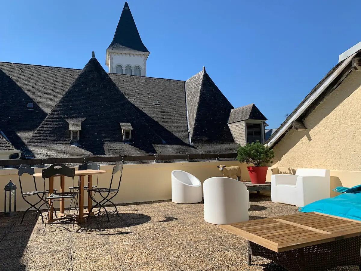 LA TERRASSE RÊVÉE Quartier du Château Vue Pyrénées