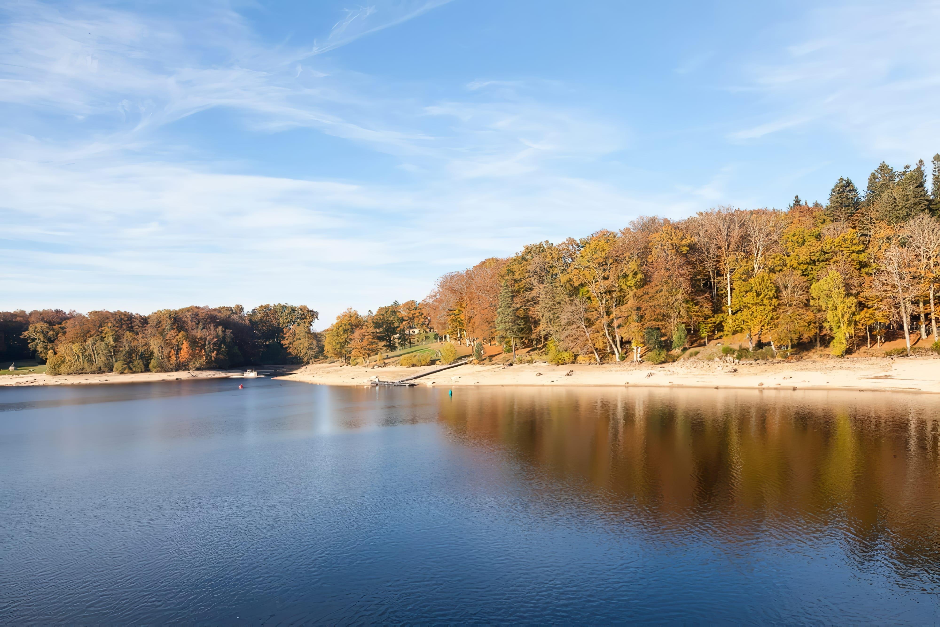 Parc Millevache avec vue sur le lac