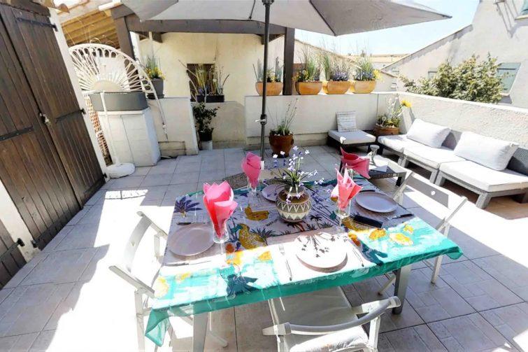 Airbnb Saintes-Maries-de-la-Mer - Duplex Terrasse