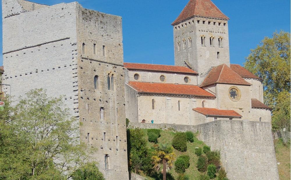 villages de Nouvelle Aquitaine : Sauveterre-de-Béarn