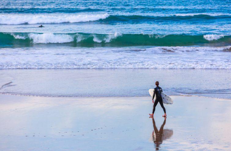Surf à Hendaye
