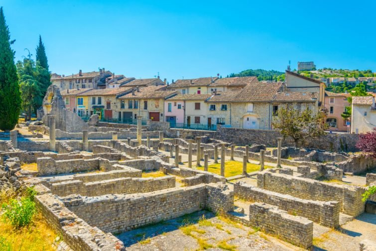 visiter le Vaucluse Vaison La Romaine