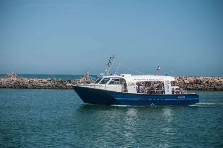 Valras bateau de plaisance