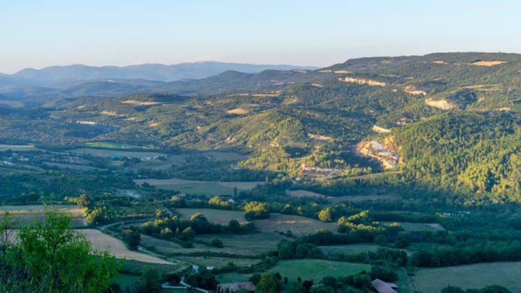 Vue Parc National du Luberon