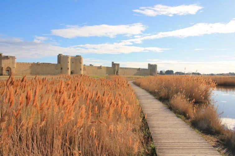 Cité médiévale et remparts d'Aigues Mortes