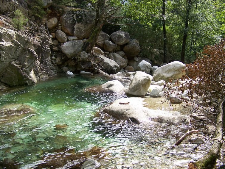 Canyoning Ajaccio : La Richiusa