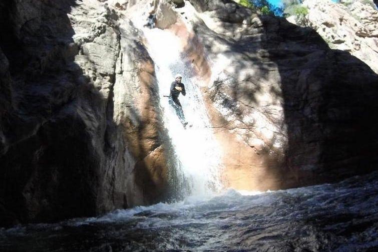 Canyoning Ajaccio : Le Canyon du Baracci