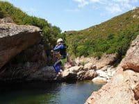 Canyoning Ajaccio : La Gravona
