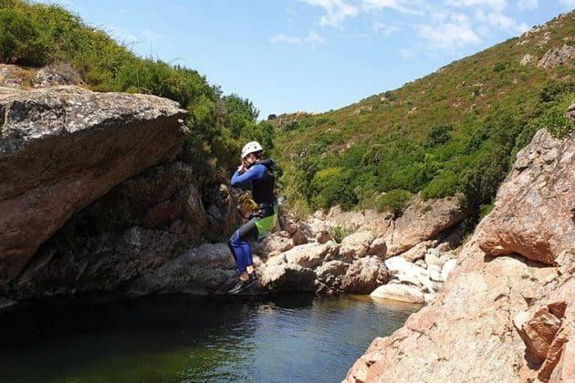 5 endroits où faire du canyoning à Ajaccio