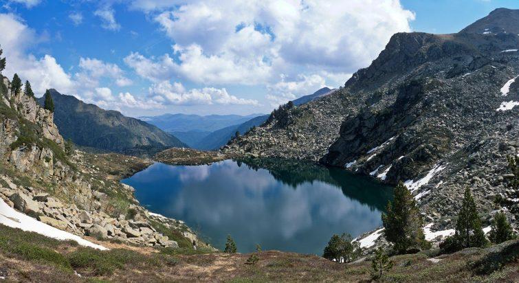 Randonnée Ariège : l'Étang Bleu