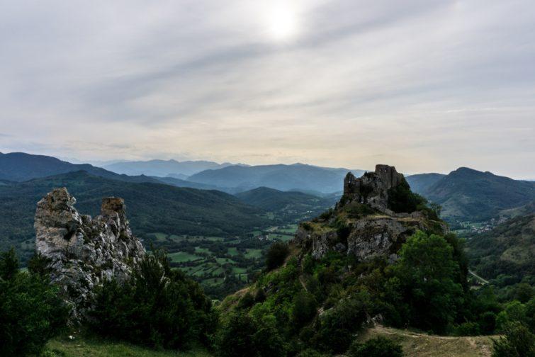 Randonnée Ariège : Château de Roquefixade