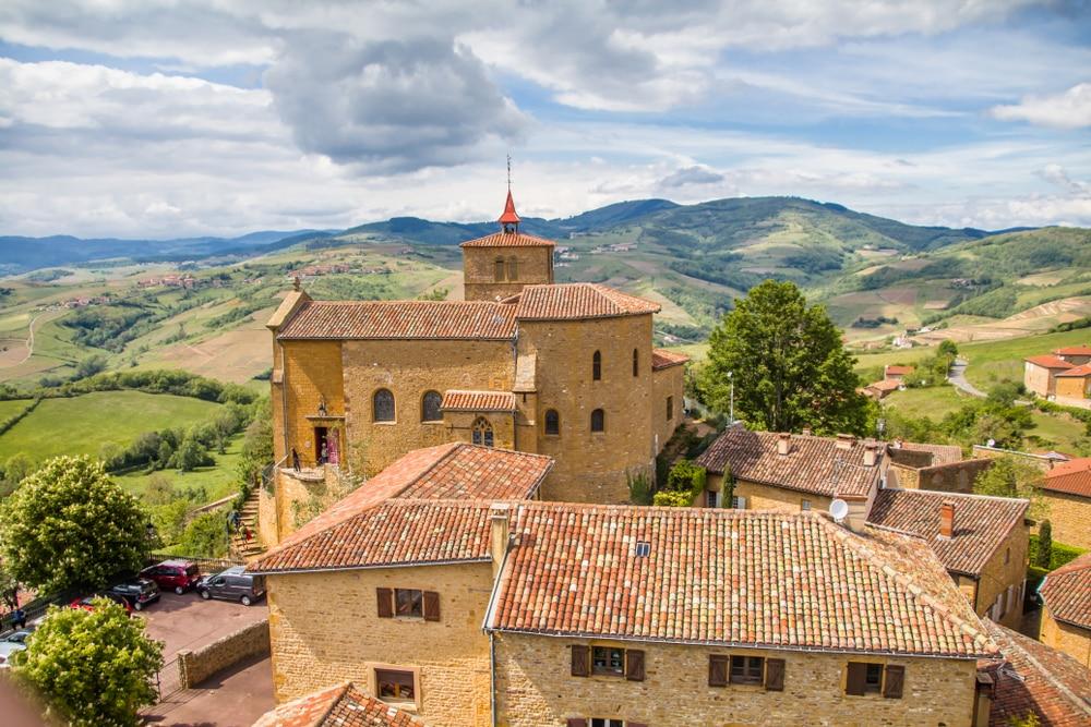Villages d'Auvergne Rhône-Alpes : Oingt
